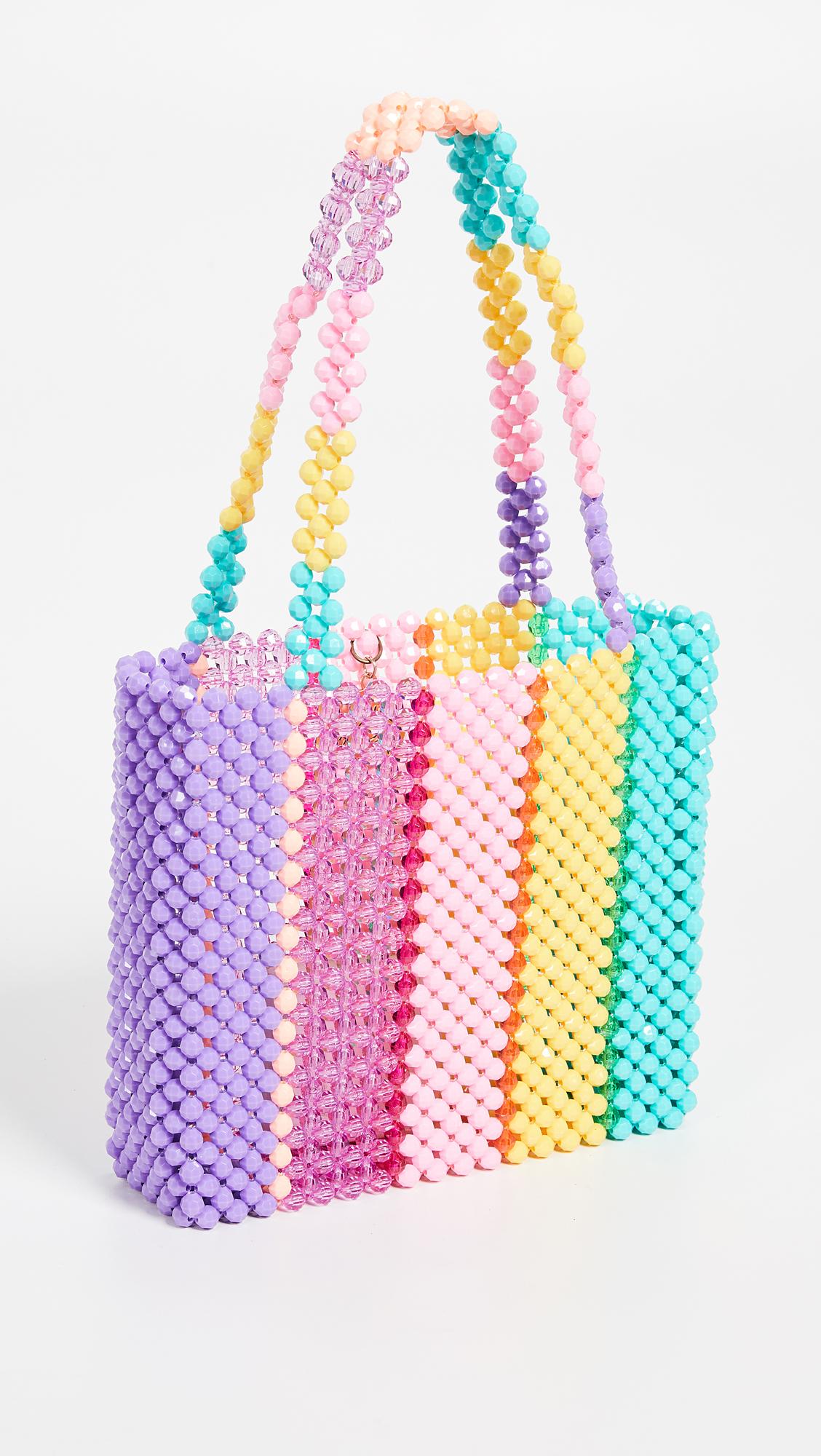 Super Cute Woven Beaded Bags by Susan Alexandra - Parfait Bag