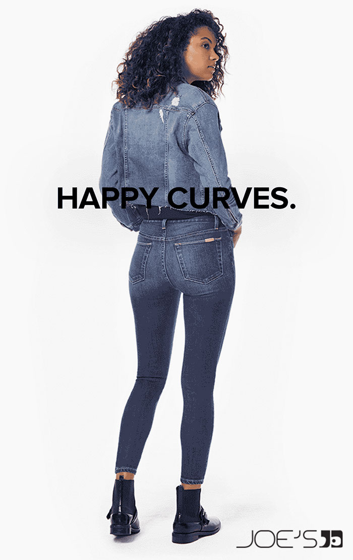 New Curvy Denim Styles for Spring from Joe's Jeans