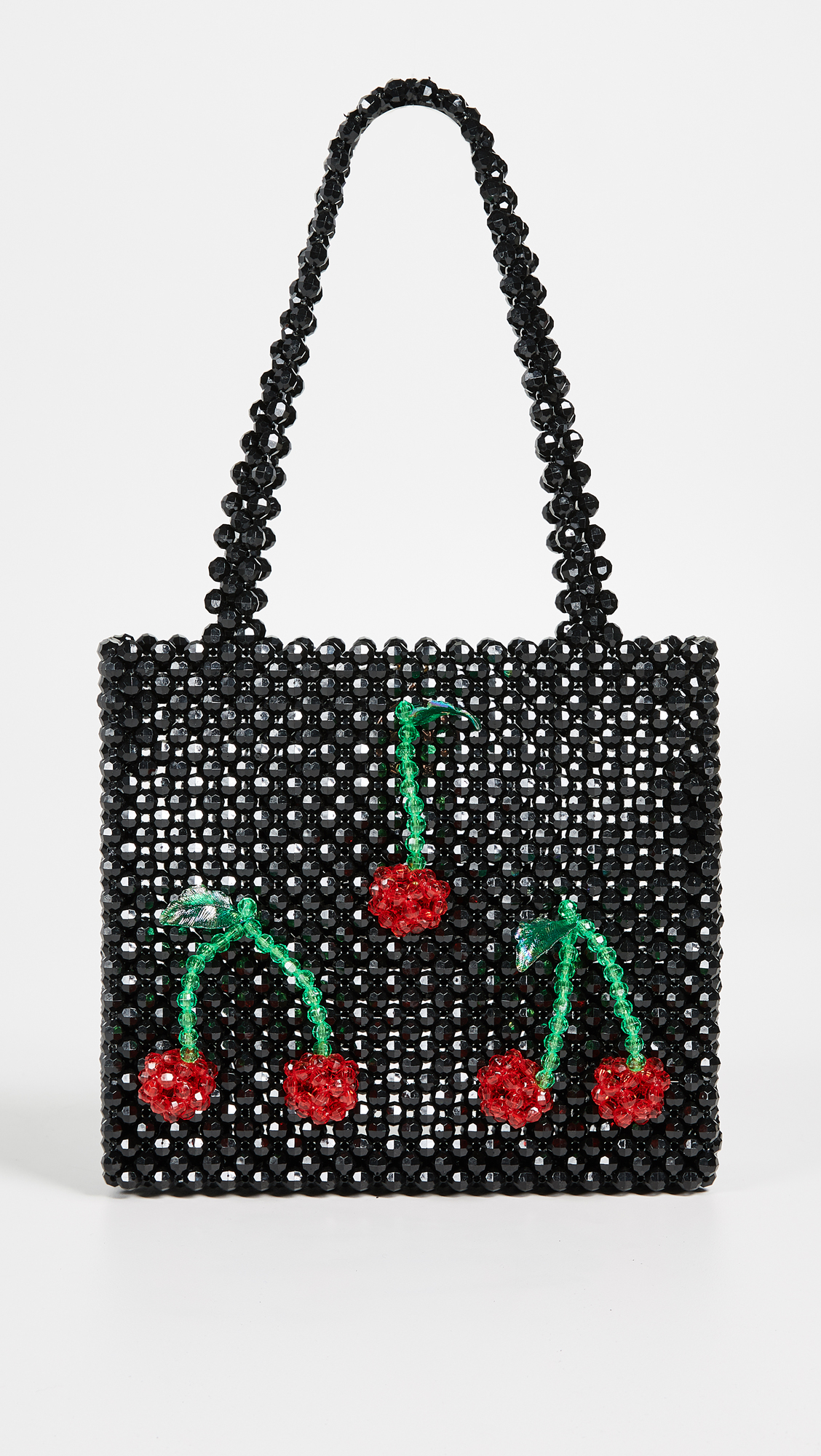 Super Cute Woven Beaded Bags by Susan Alexandra - Ma Cherie Bag in Black