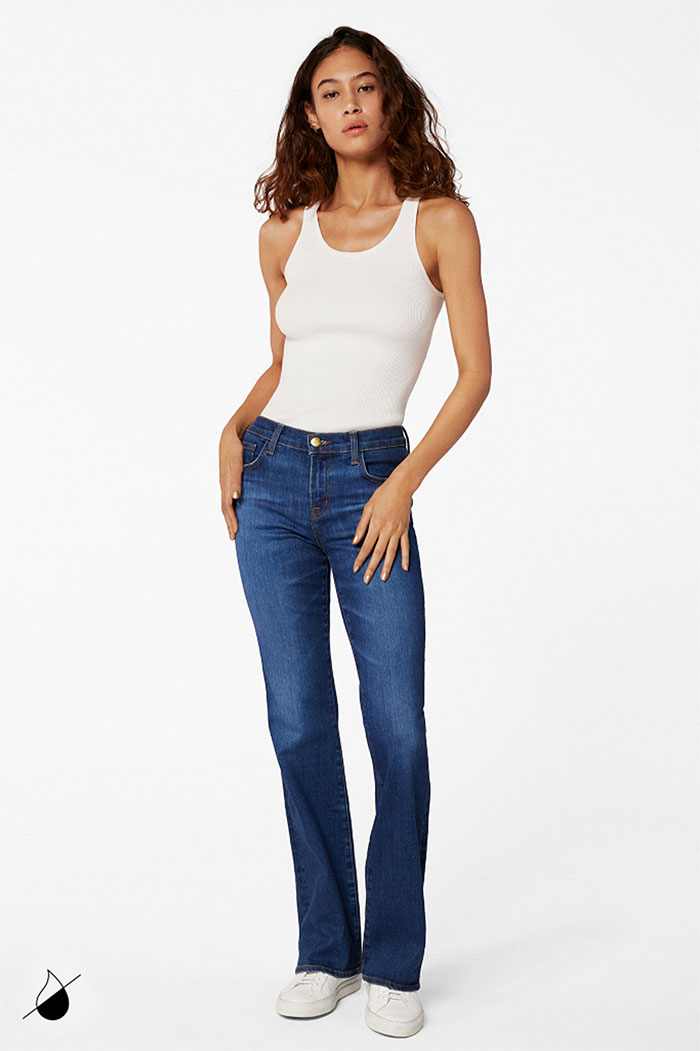 New Eco Sustainable Denim Styles from J BRAND - Sallie Boot in Arcade