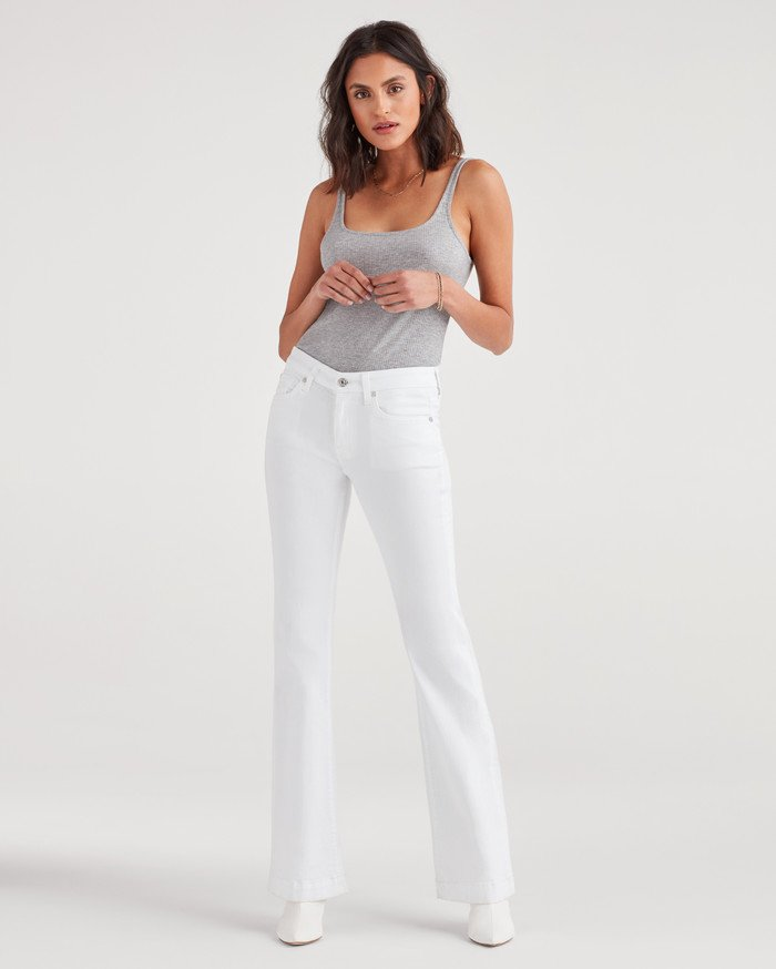 New Fun White Denim Styles for Summer from 7 For All Mankind - Dojo