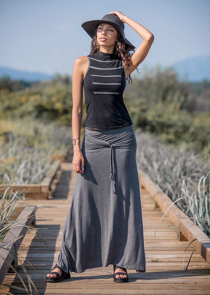 The Nomads Hemp Wear Spring/Summer 2019 Collection - Demure Top, Santorini Skirt