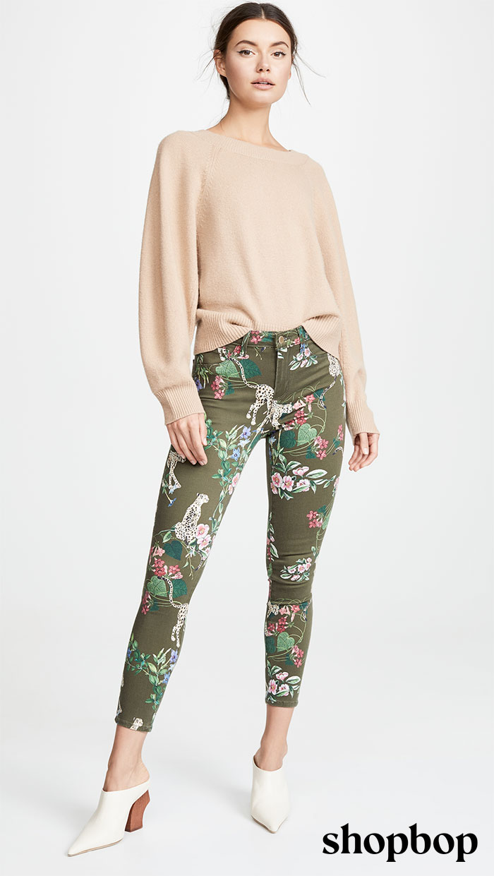 17 Printed Jeans from Shopbop to Spice Up Your Wardrobe