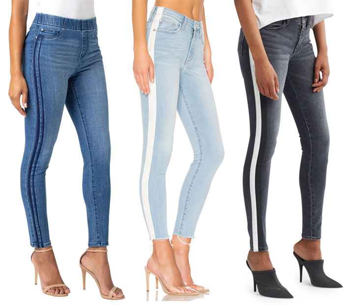 21 Side Stripe Skinny Jeans to March You Through the Summer - Jeans 1