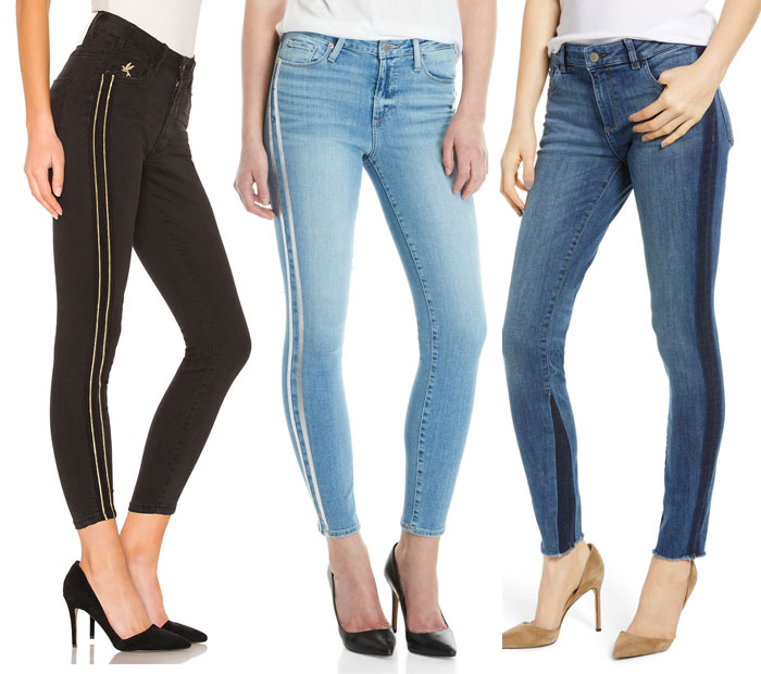 21 Side Stripe Skinny Jeans to March You Through the Summer - Jeans 2