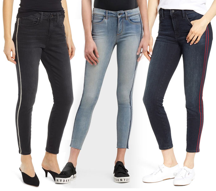 21 Side Stripe Skinny Jeans to March You Through the Summer - Jeans 4