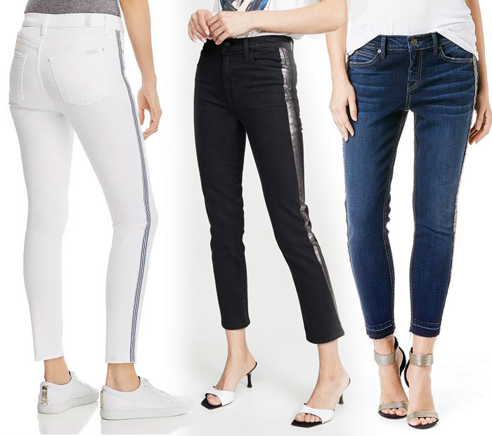 21 Side Stripe Skinny Jeans to March You Through the Summer - Jeans 5