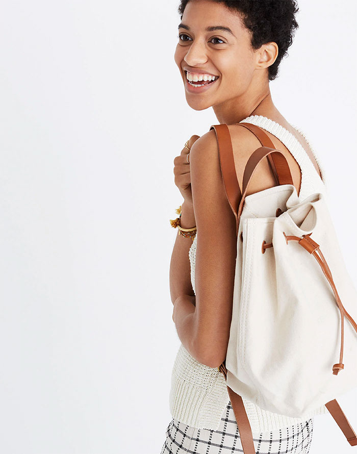 Canvas Somerset Backpack from Madewell