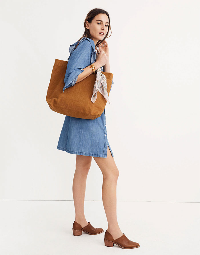 Canvas Transport Bag from Madewell