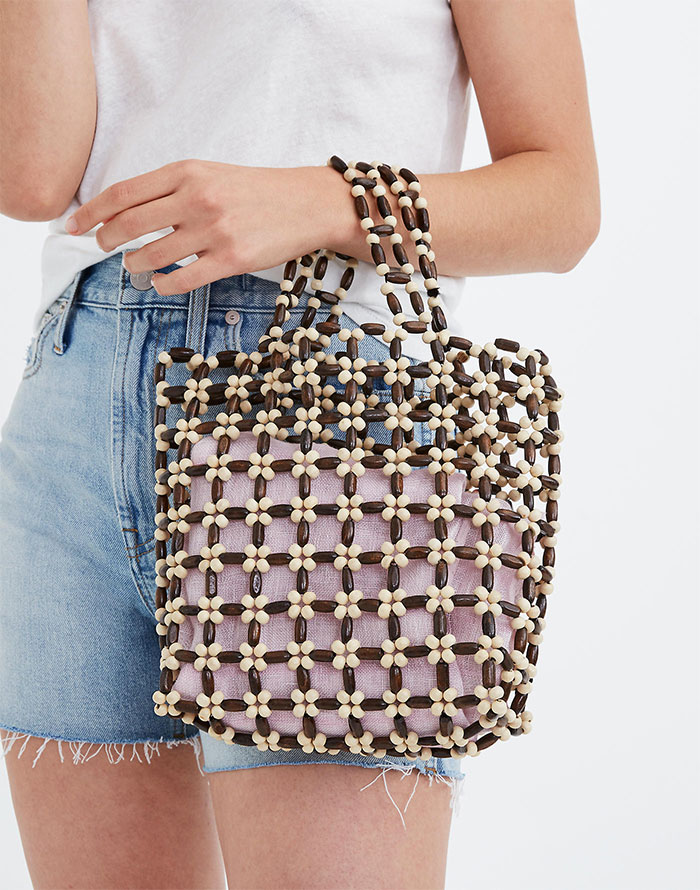 Small Beaded Transport Bag from Madewell