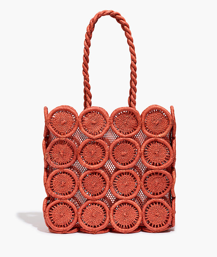 Straw Catania Bag from Madewell