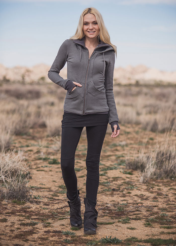 Nomads Hemp Wear Continuum Hoodie and Zodiac Leggings