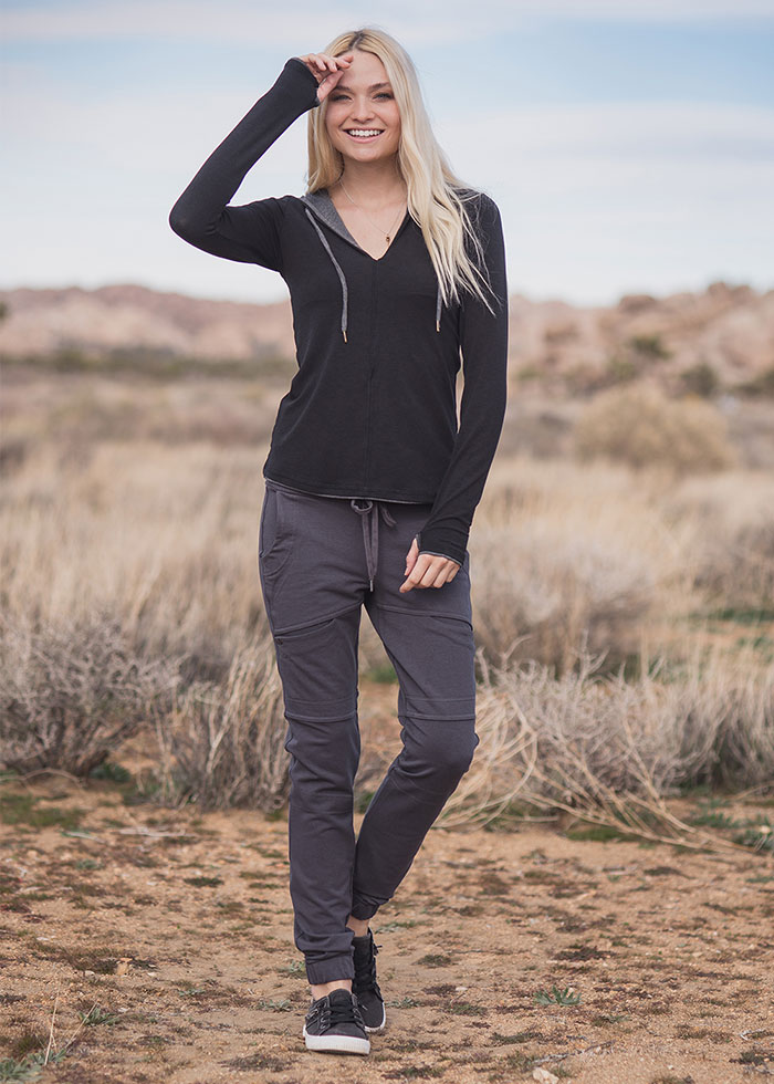 Nomads Hemp Wear Diversity Hoodie and Impulse Leggings
