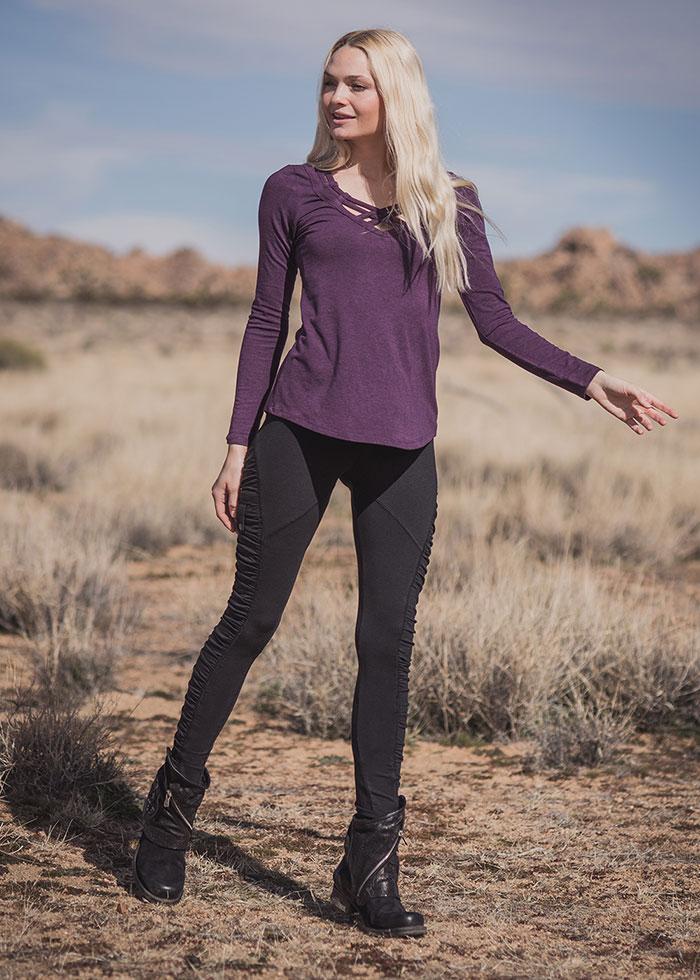 Nomads Hemp Wear Memory Top and Dystopia Leggings