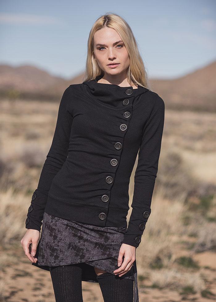 Nomads Hemp Wear Phenomenon Hoodie and Stellar Skirt