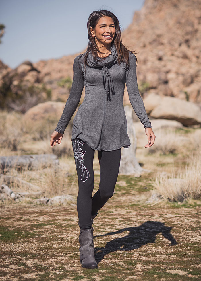 Nomads Hemp Wear Prophecy Tunic and Spectrum Leggings
