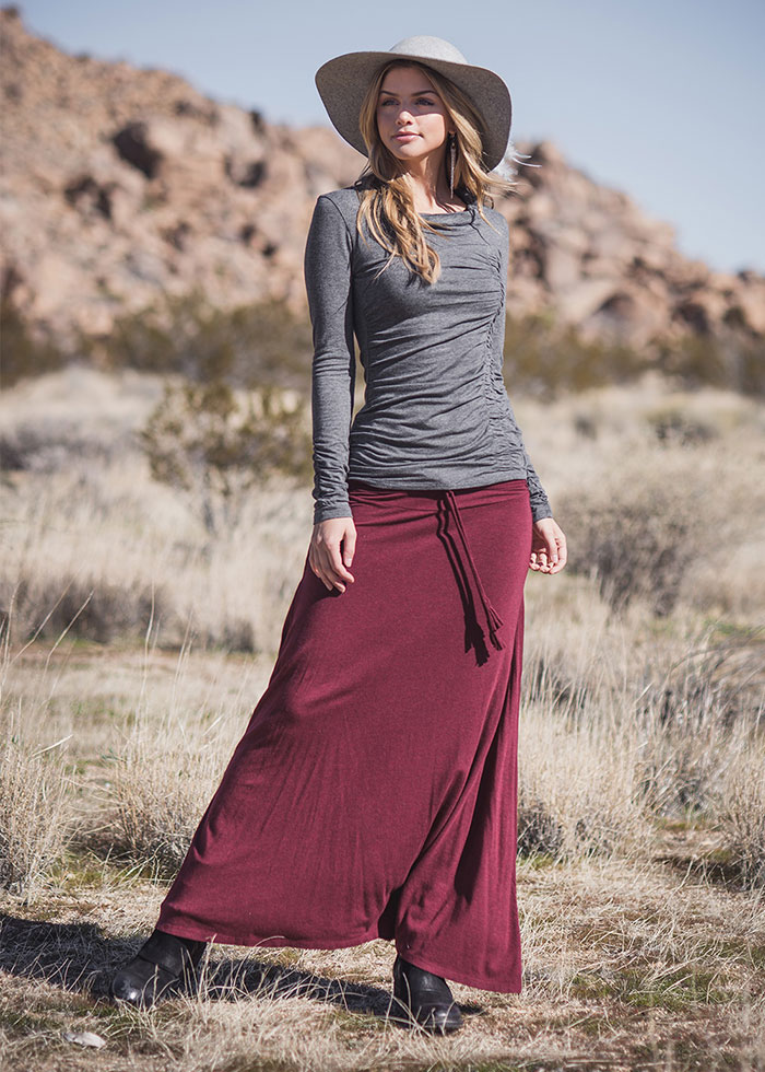 Nomads Hemp Wear Willow Top and Santorini Skirt
