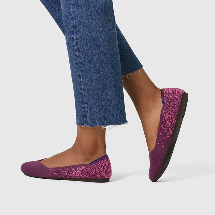 Rothy's Flat Shoe in Python