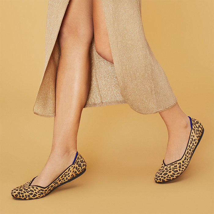 Rothy's Flat Shoe in Spotted