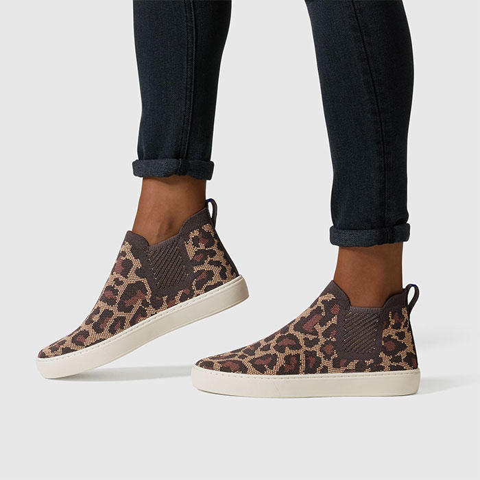 Rothy's sustainable footwear - Chelsea Shoe in Wildcat