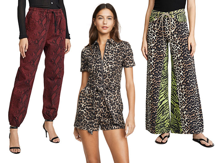 Animal Print Pants and Onesie