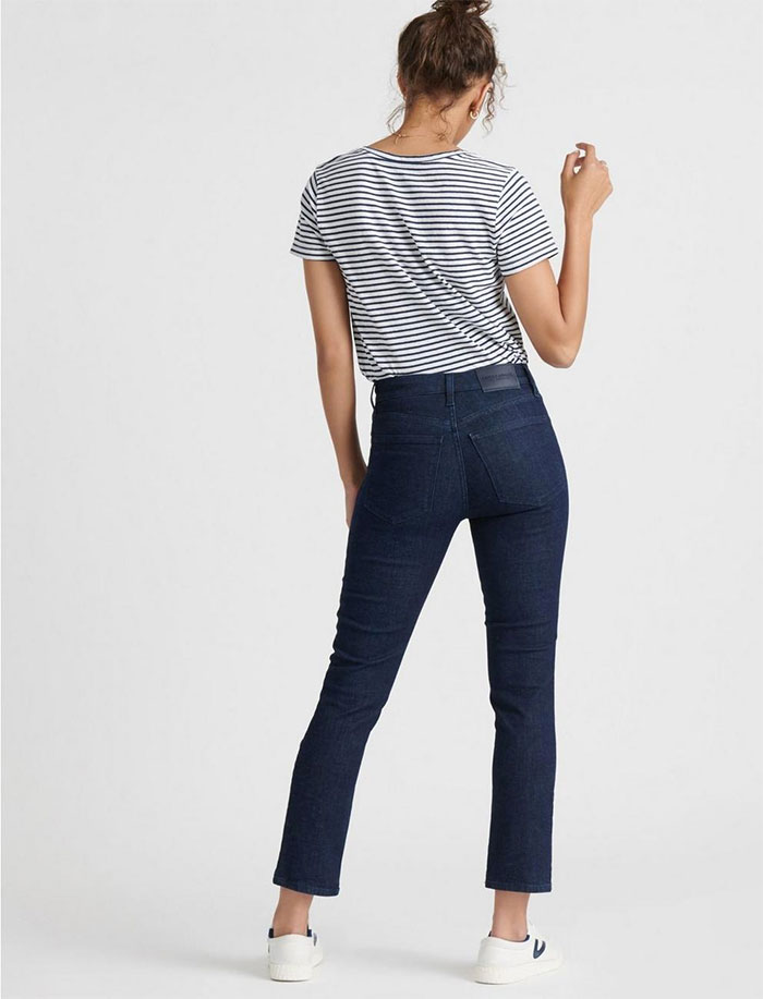 Lucky Brand Sculpt-Ed Jeans - High Rise Bridgette Slim