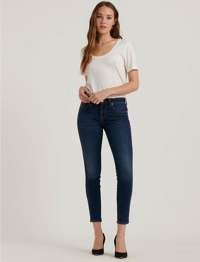 Lucky Brand Sculpt-Ed Jeans - Low Rise Lolita Skinny
