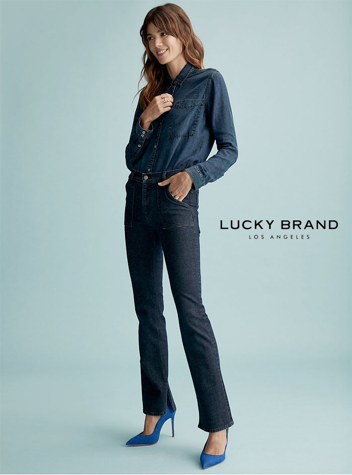 Lucky Brand Sculpt-Ed Jeans
