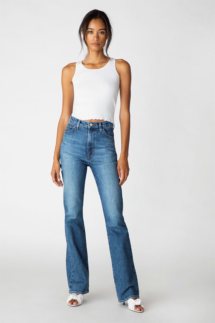 J Brand 1219 Runway High-Rise Boot Jeans In Metropole