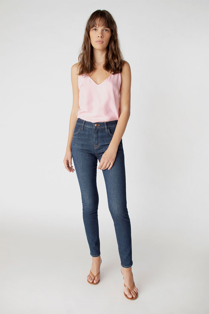 J Brand Maria High-Rise Skinny Jeans In Everlast