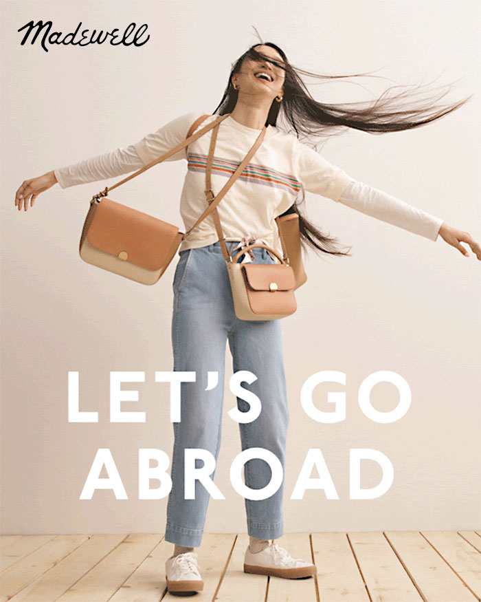 Timeless Leather Bags from the Madewell Abroad Collection