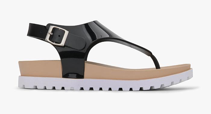 Matt & Nat Vegan Footwear - Abi Sandal in Black