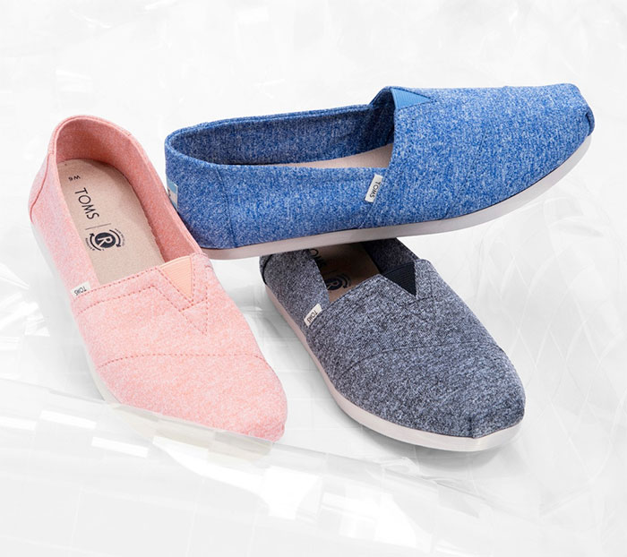 The New earthwise™ Eco Friendly Footwear Collection from TOMS