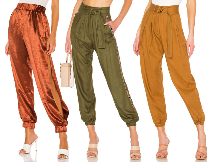 Joggers for Working at Home - Satin Joggers