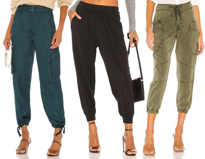 Comfortable and Stylish Joggers for Working at Home - cargo and harem styles