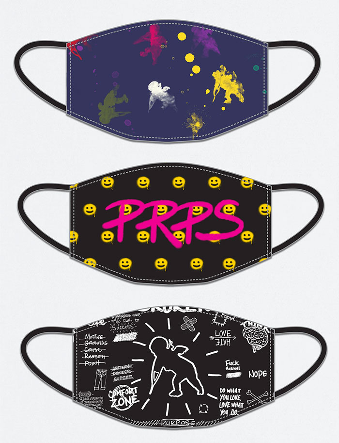 Face Masks by PRPS