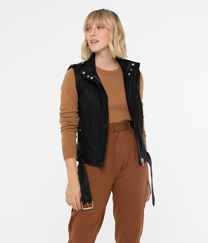 Matt & Nat - Leslie Sleeveless Vegan Jacket