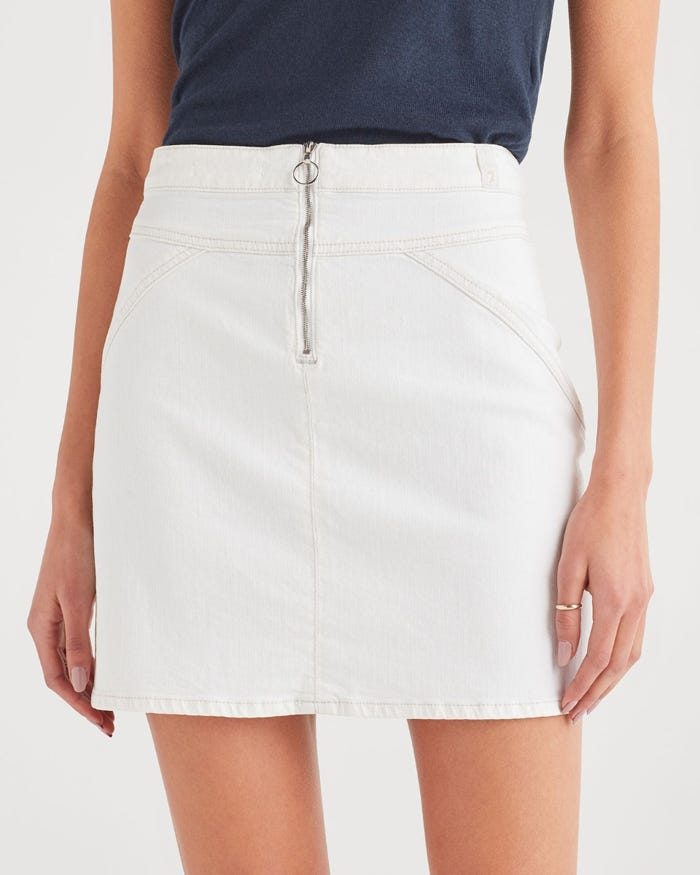 7 For All Mankind - Seamed Skirt