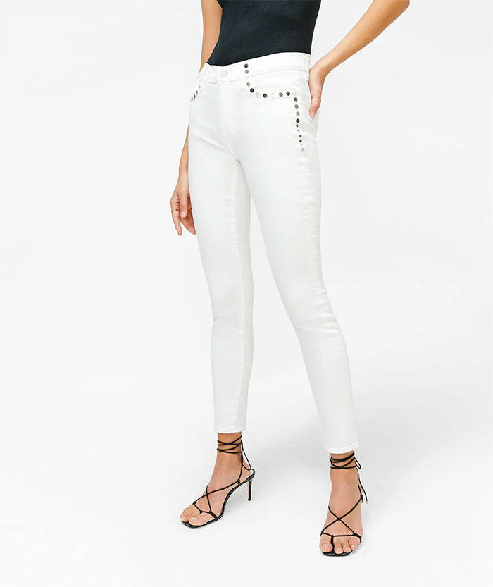 7 For All Mankind - Skinny with Studs
