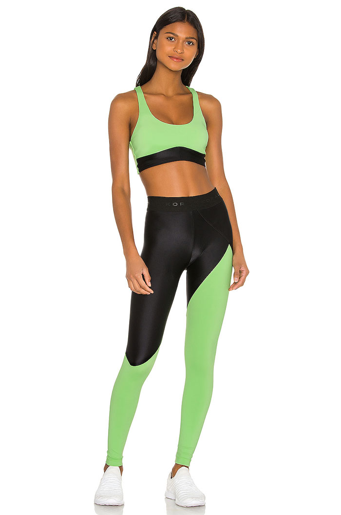 Koral Activewear - Ring Blackout Bra and Pipe Energy Leggings