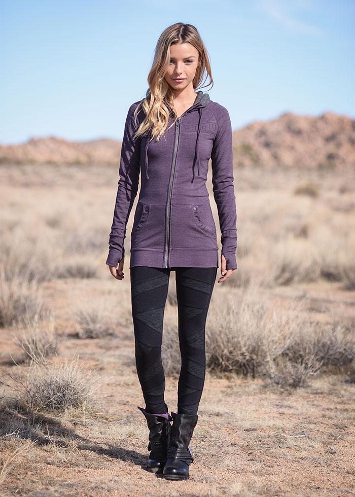 Nomads Hemp Wear Fall/Winter 2020 - Elevate Hoodie and Polygon Leggings