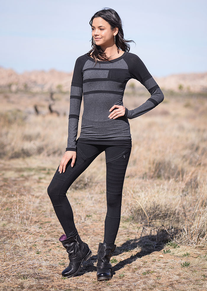 Nomads Hemp Wear Fall/Winter 2020 - Visionary Top and Recluse Leggings