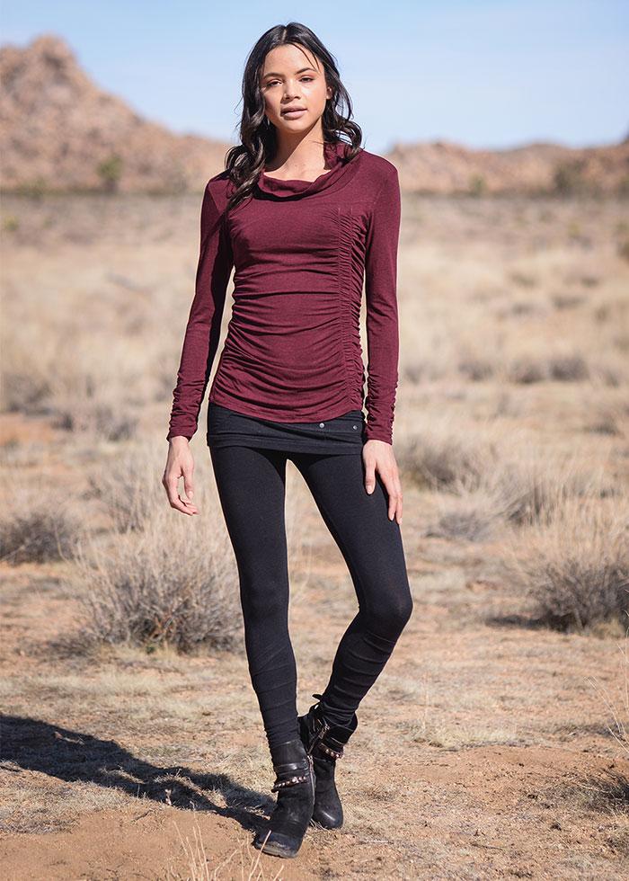 Nomads Hemp Wear Fall/Winter 2020 - Willow Tee and Starburst Leggings