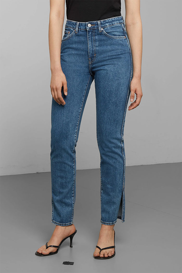Weekday Denim - Case High Straight Split Jean