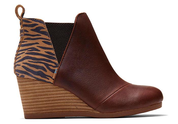 TOMS Kelsey Boot in Zebra