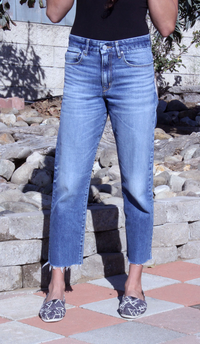 Porter Blue Apparel – Rebel Straight Jeans - Closeup