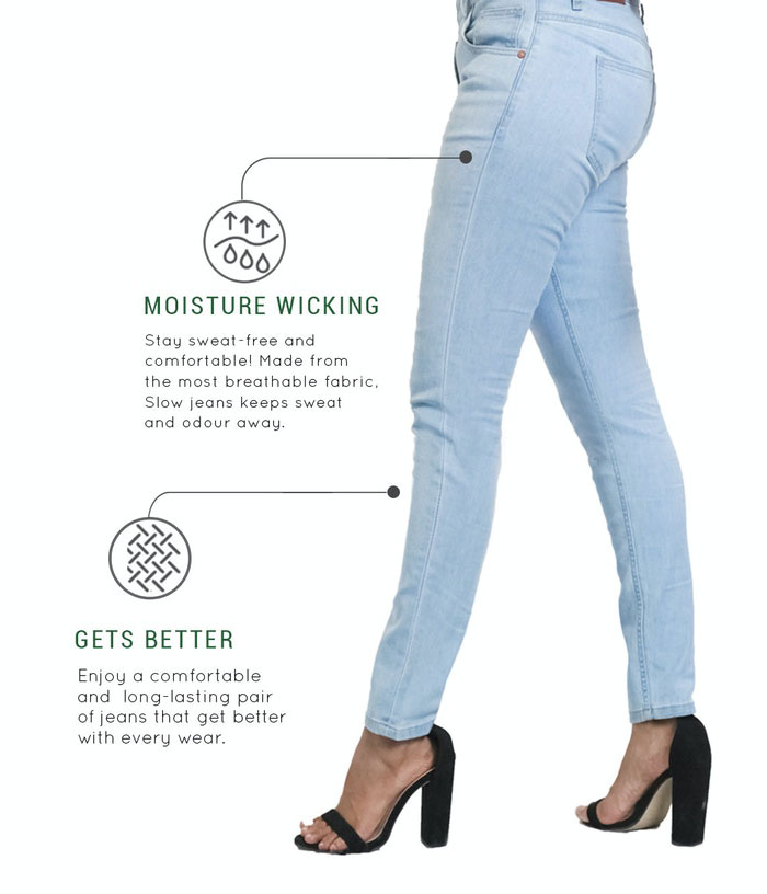 SLOW Jeans by Canvaloop - Women's Diagram