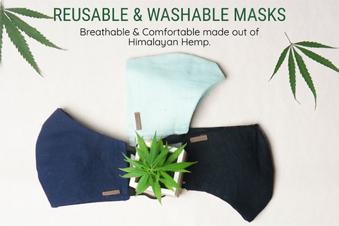 Hemp Denim Kickstarter Campaign from SLOW Jeans by Canvaloop - Masks
