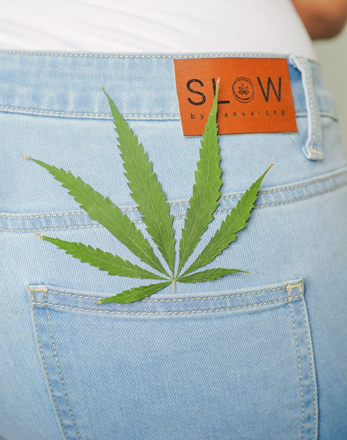 SLOW Jeans by Canvaloop - Back Pocket