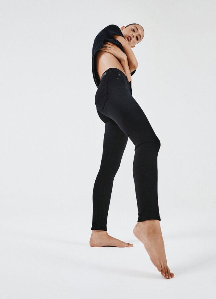 AG Seamless - Farrah in Super Black